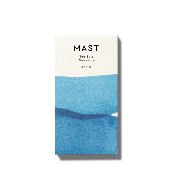 Mast Mini Sea Salt Chocolate | Mast Brothers | Golden Rule Gallery | Excelsior, MN
