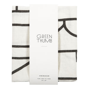 Green Thumb Tea Towel