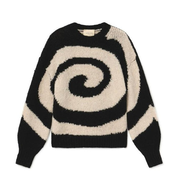 Paloma Wool Black Twister Sweater | Black Twister Knit | Paloma Wool | Golden Rule Gallery | Excelsior, MN