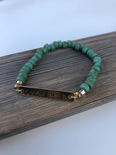 Load image into Gallery viewer, Green Stone Bracelet