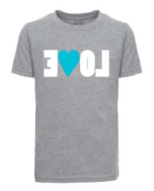 Kids Heather LOVE Tee