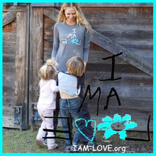 Load image into Gallery viewer, I AM LOVE Long Sleeve Black