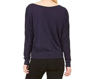 Flowy Long Sleeve Shirt Midnight