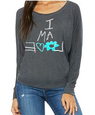 Flowy Long Sleeve Gray