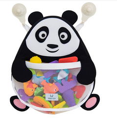Nooni Care Bath Toy Storage Organiser, Fat Panda Kids Bathroom Toys Basket