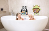 Image of Nooni Care Bath Toy Storage Organiser, Fat Panda Kids Bathroom Toys Basket
