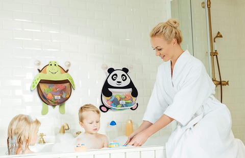 Nooni Care Shower Organiser for Bath Toys and Baby Bathroom Toy Storage