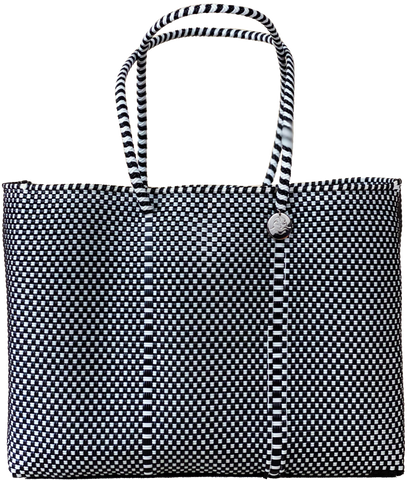 Tote - Black and White