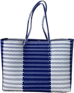 Tote - Geo Navy and White