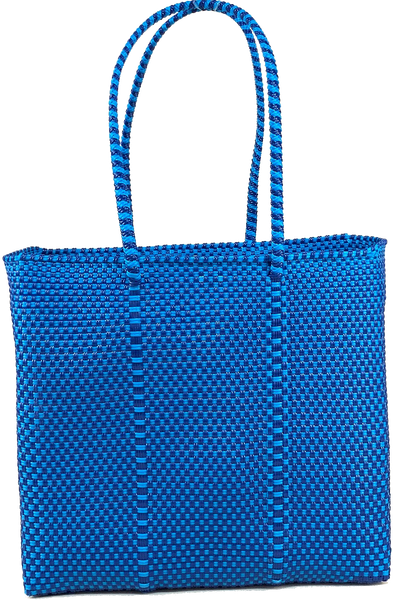 Small Tote - Blue and Navy