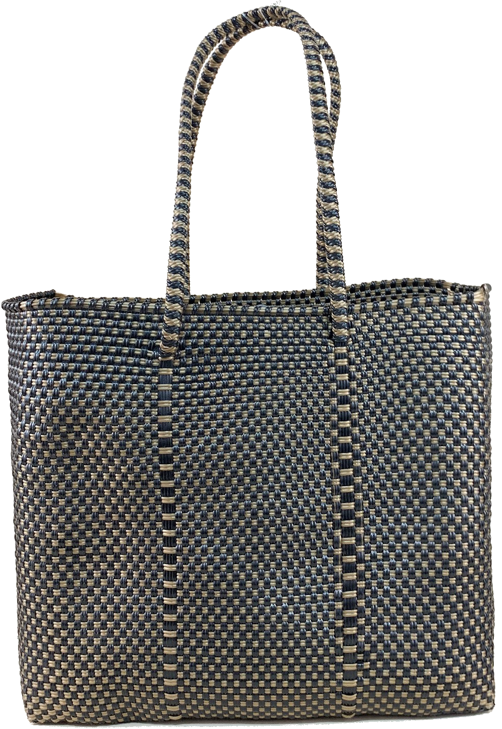 Small Tote - Black and Gold
