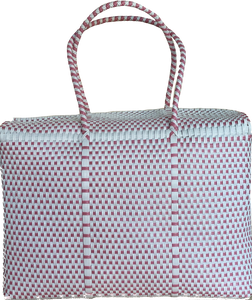 Picnic - Baby Pink and White