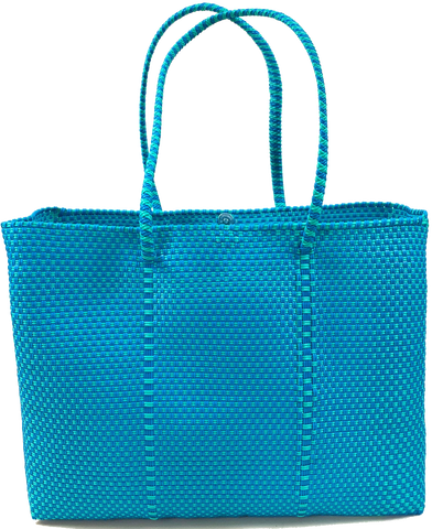 Tote - Turquoise and Green