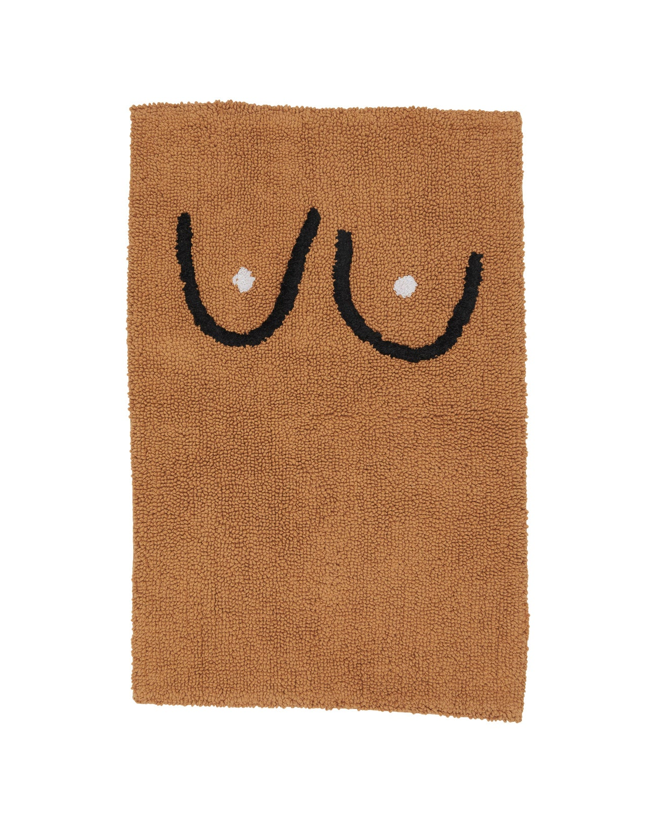 Boob Bathmat - brown