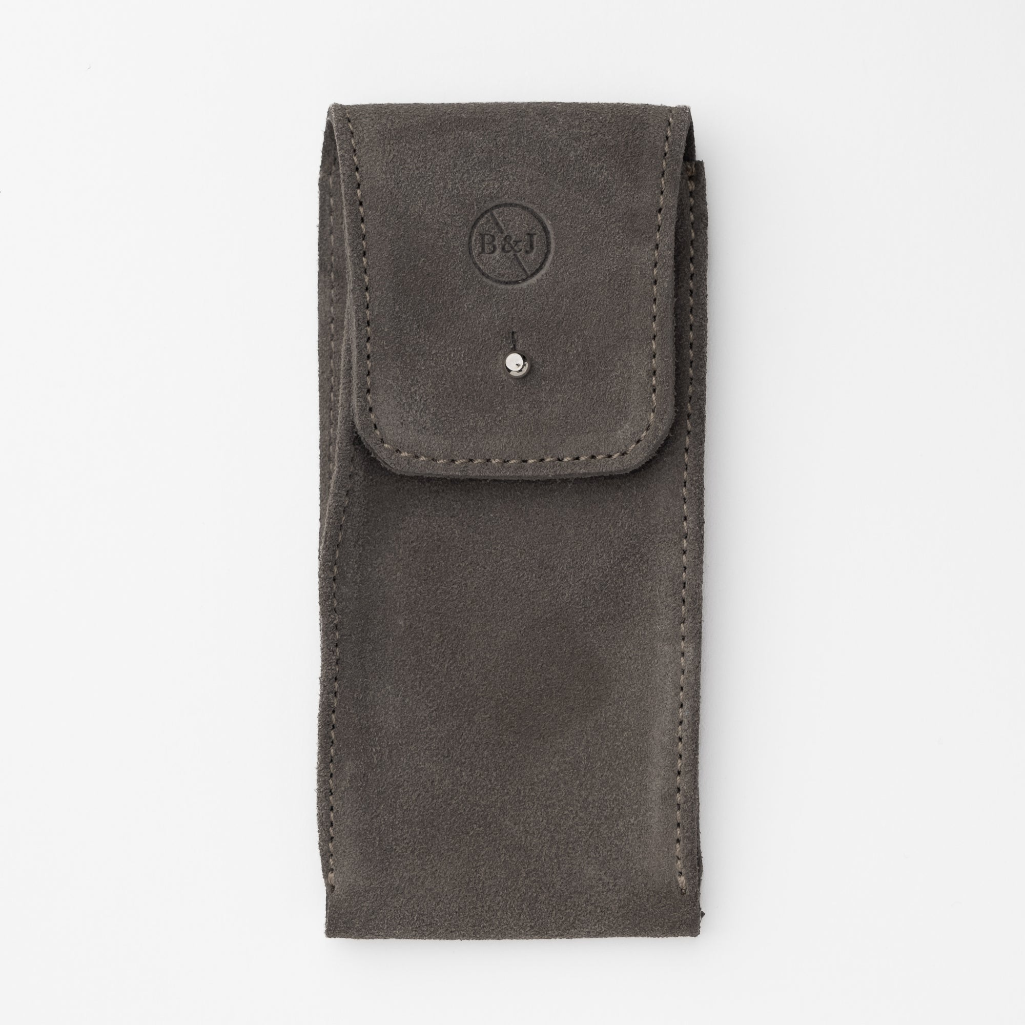 Earl Grey Suede Watch Pouch