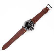 Load image into Gallery viewer, Mocha - Vintage Style Leather Strap