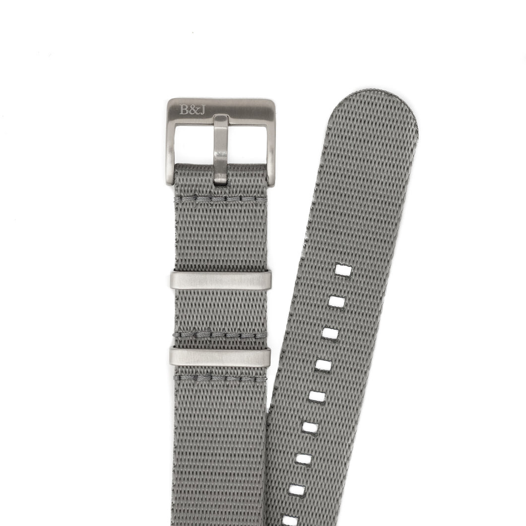 GREY Seatbelt Nylon