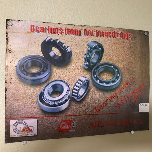 ABL Bearings Vintage Sign