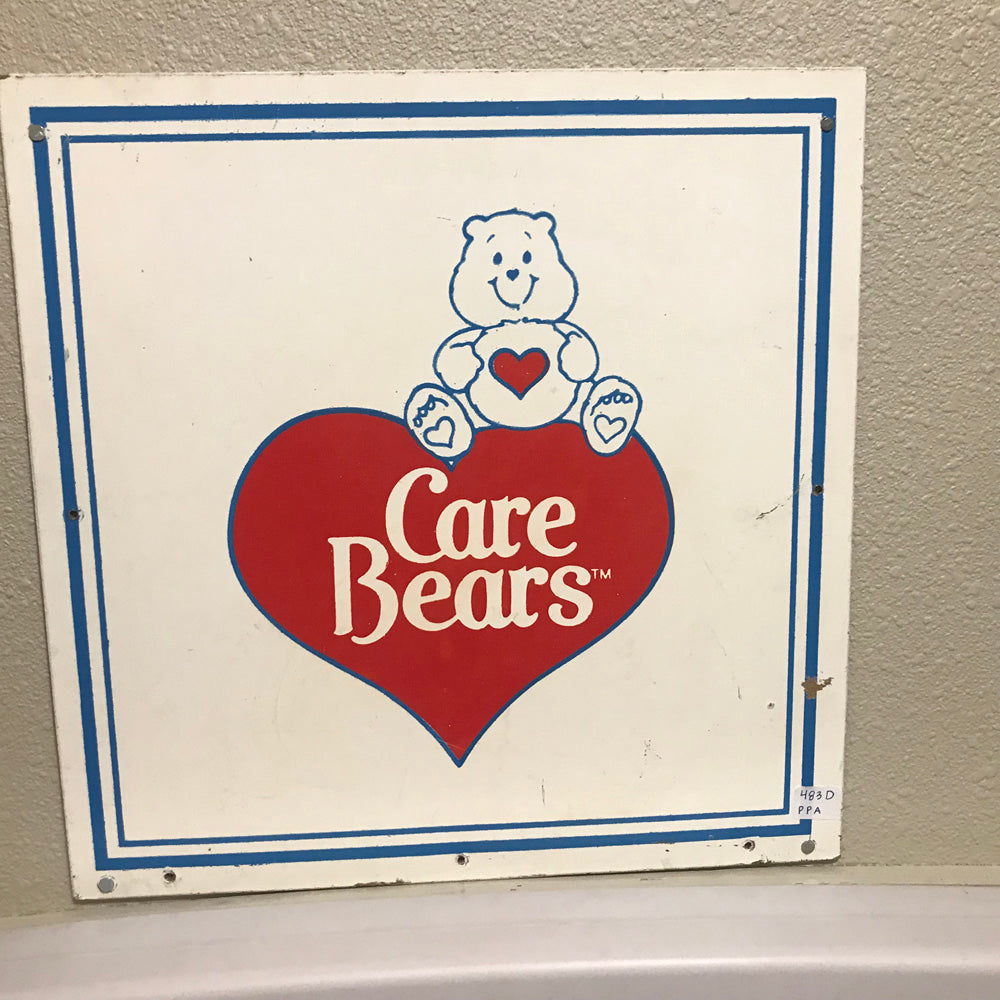 Care Bears Vintage Sign