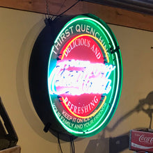 Load image into Gallery viewer, Coca-Cola Thirst Quenching Neon Sign 02