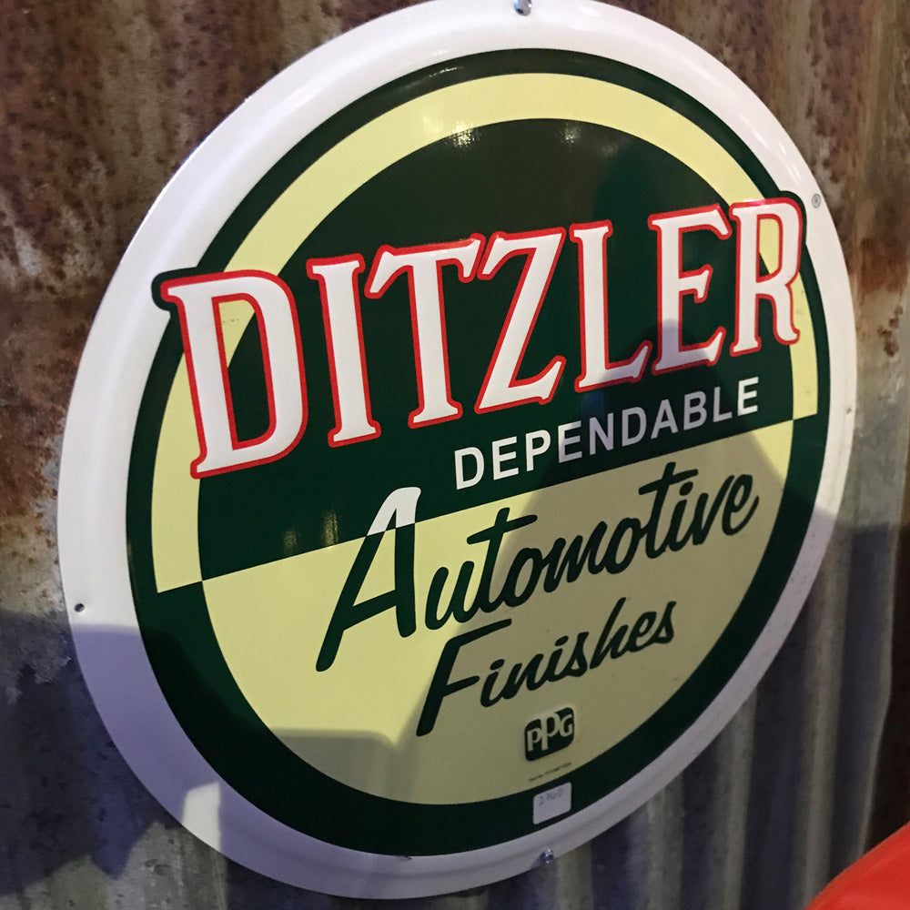 Ditzler Automotive Finishes Vintage Sign 512D