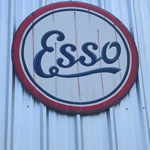 Esso Large Vintage Sign