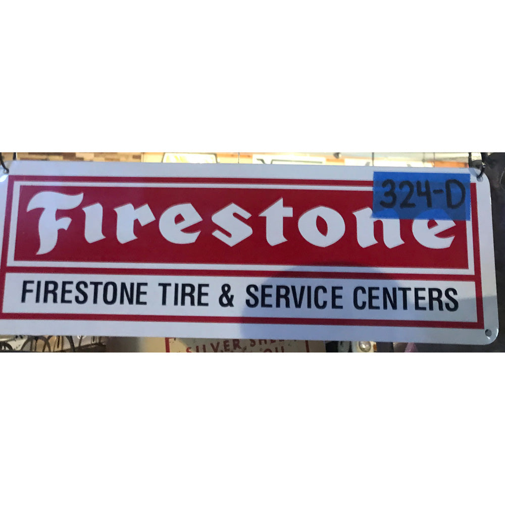 Firestone Service Center Vintage Sign