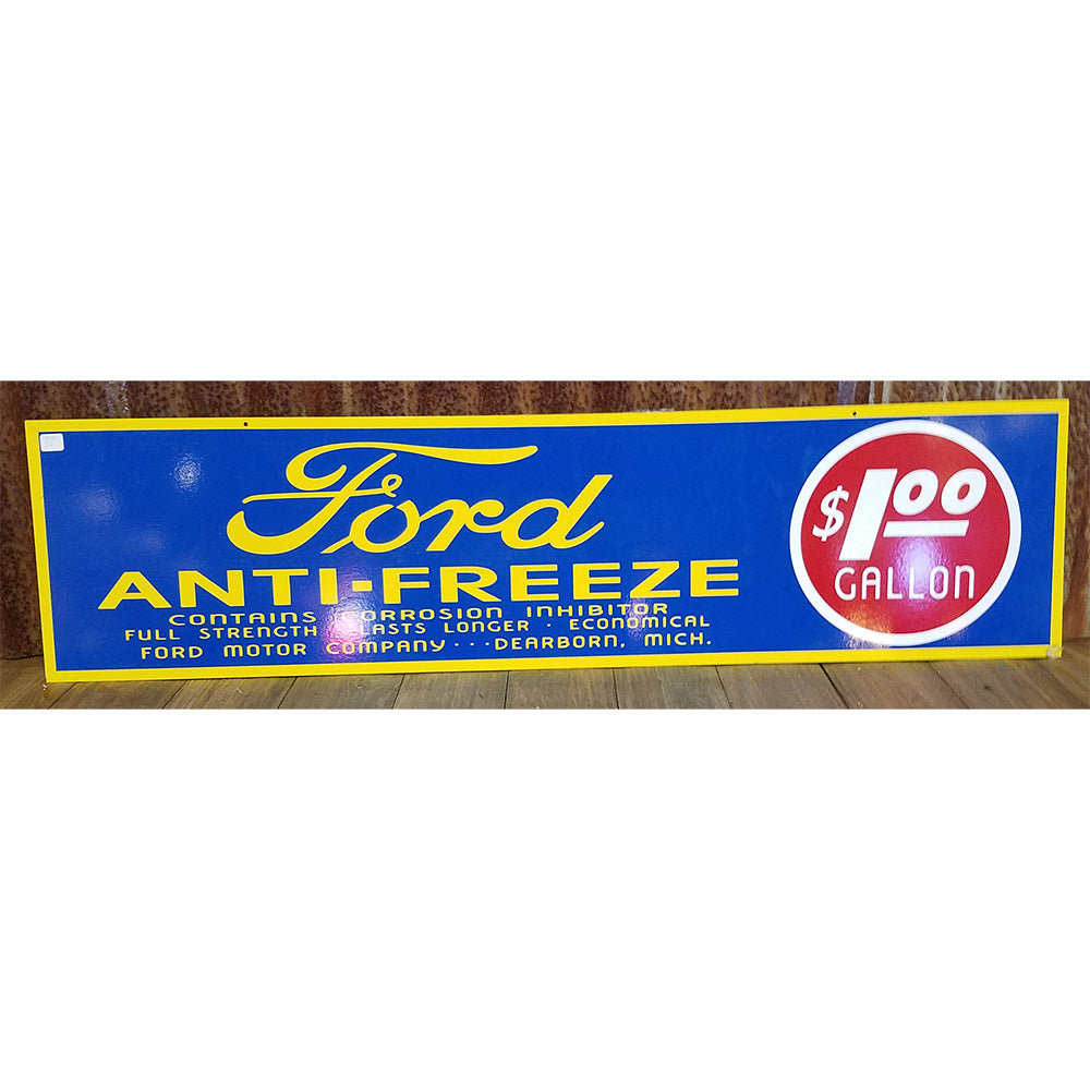 Ford Antifreeze Vintage Sign
