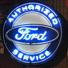 Load image into Gallery viewer, Ford Authorized Service Neon Sign 02
