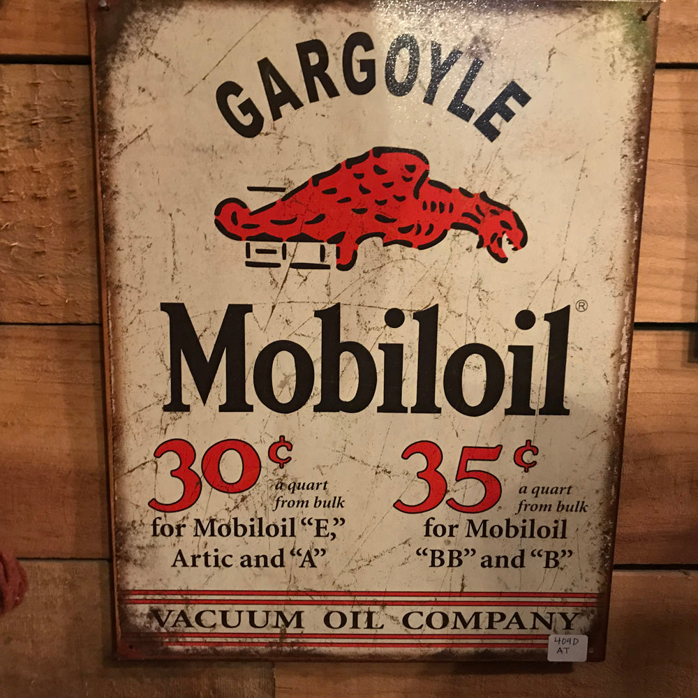 Gargoyle Motor Oil Vintage Sign