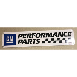 Gm Performance Parts Vintage Sign