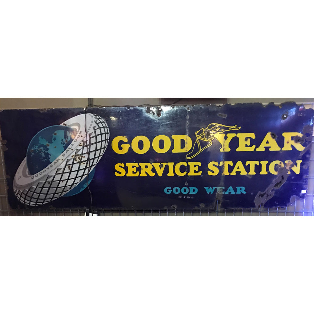 Goodyear Good Wear Vintage Sign