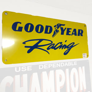 Goodyear Racing Vintage Sign