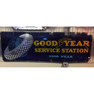 Goodyear Service Station Vintage Sign 02