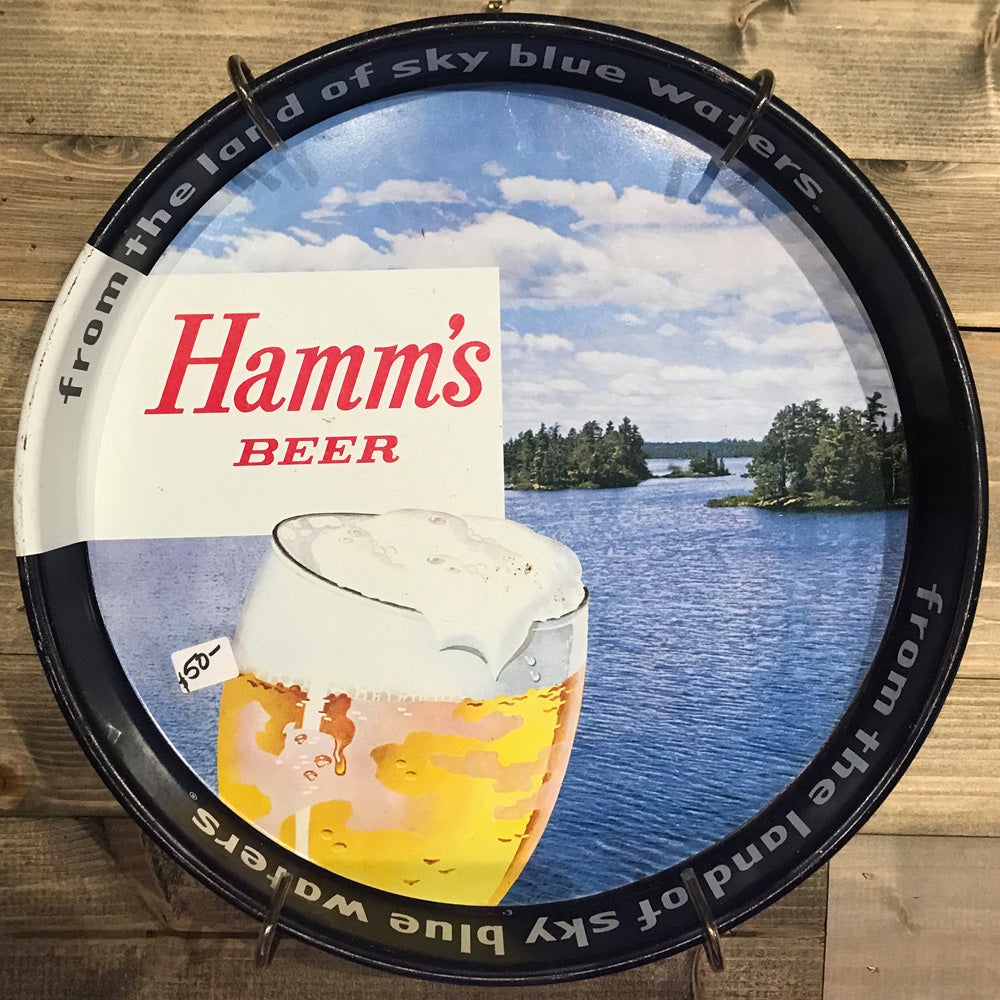Hamms Beer Serving Tray 02