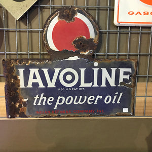 Havoline The Power Oil Vintage Sign