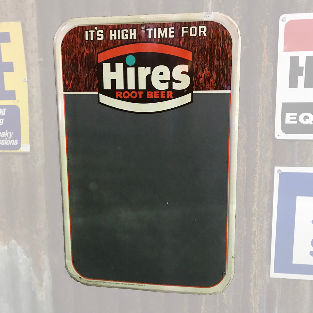 Hires Root Beer Menu Board