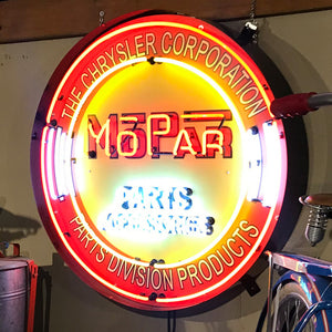 Mopar 36 Inch Neon Sign 02