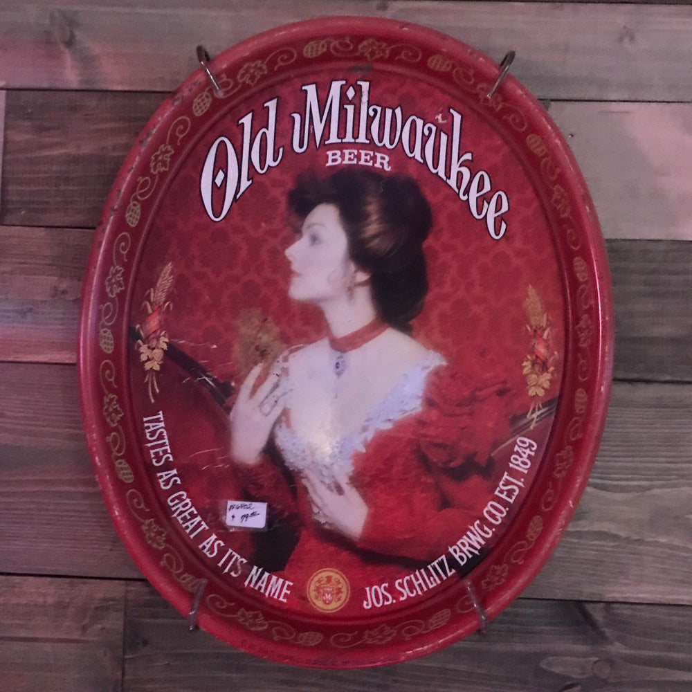 Old Milwaukee Beer Serving Tray