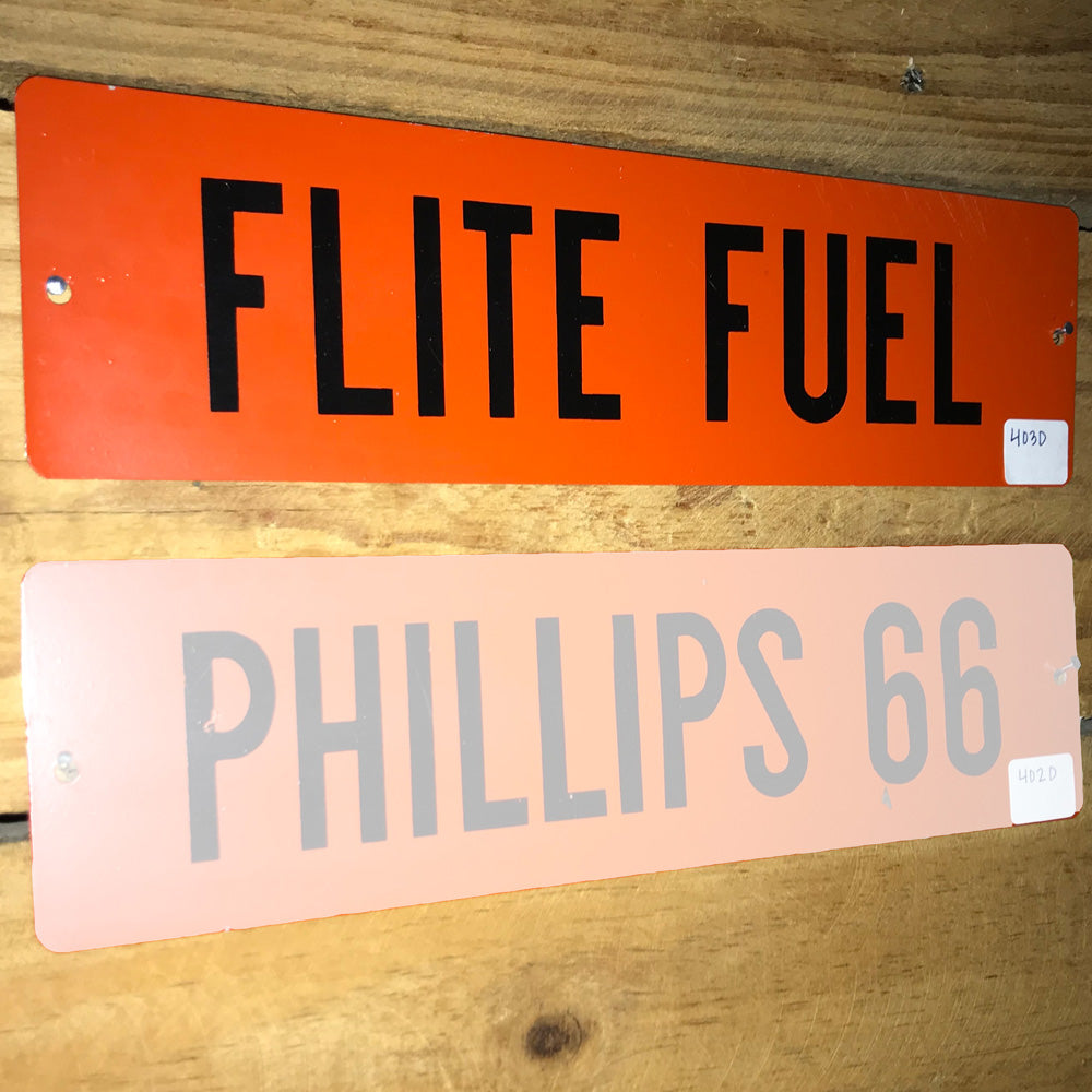 Phillips 66 Flite Fuel Vintage Sign 01