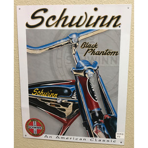 Schwinn Black Phantom Vintage Sign
