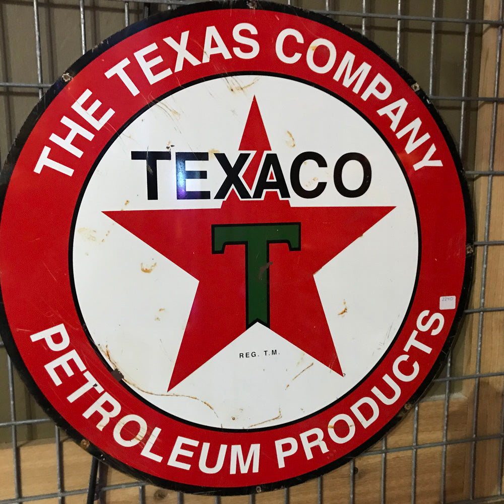 Texaco The Texas Company Vintage Sign