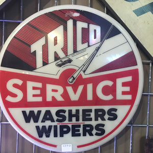 Trico Washers and Wipers Service Vintage Sign