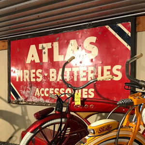 Atlas Tire & Battery Vintage Sign 03