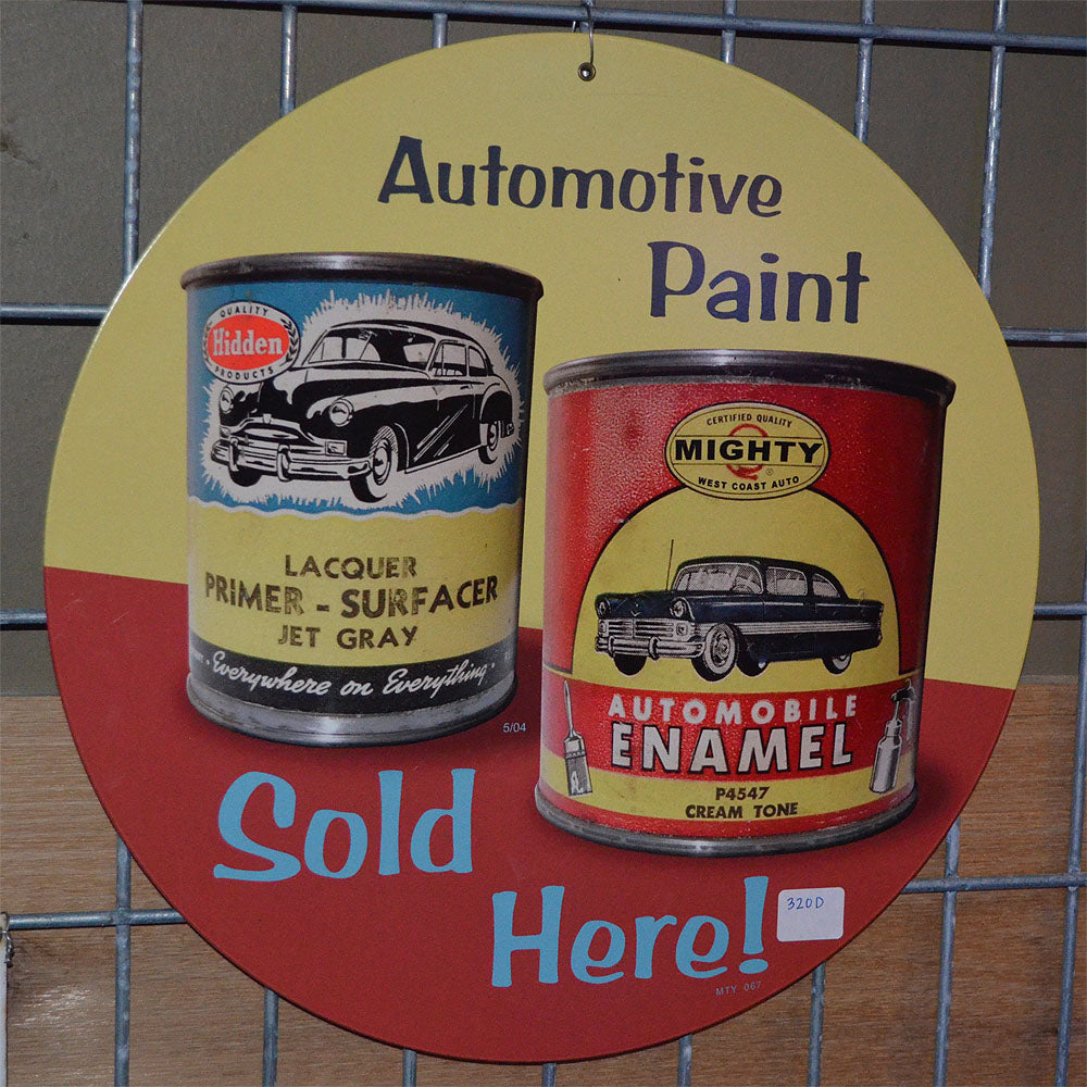 Automotive Paint Vintage Sign