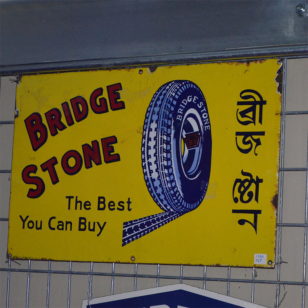 Bridge Stone Vintage Sign
