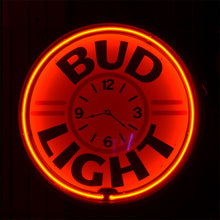 Load image into Gallery viewer, Classic Bud Light Beer Neon Sign 02