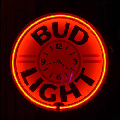 Classic Bud Light Beer Neon Sign 02