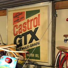 Load image into Gallery viewer, Castrol GTX Motor Oil Vintage Sign