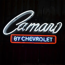 Load image into Gallery viewer, Camaro by Chevrolet neon sign
